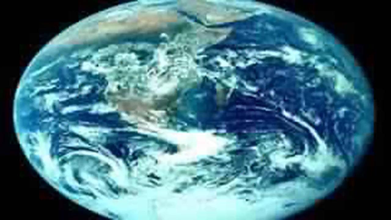 شكل الارض
