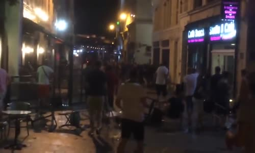Violence Marseille England Russia Hooligans Riot Clash Attacks in a Pub Euro 2016