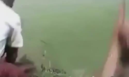 شاب عثر على شئ فى نهر الامازون وعندما فتحها كانت المفاجاءة الكبرى!!!! لن تصدق عيناك