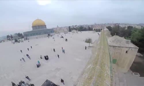 هل رأيت مسجد قبة الصخرة في القدس من هذه الزاوية من قبل ؟