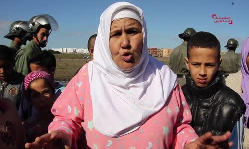 المغربية التي تهدد باللجوء للجزائر لتعرضها للضلم