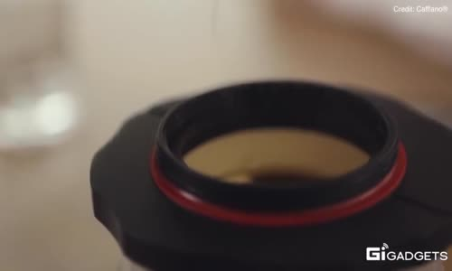 The portable press can brew the perfect cup of coffee anywhere!