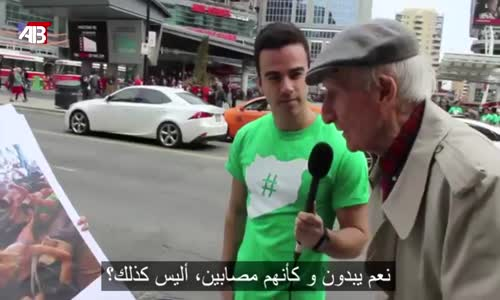 This old mans reaction is priceless ردة فعل هذا المسن لا تقدر بثمن