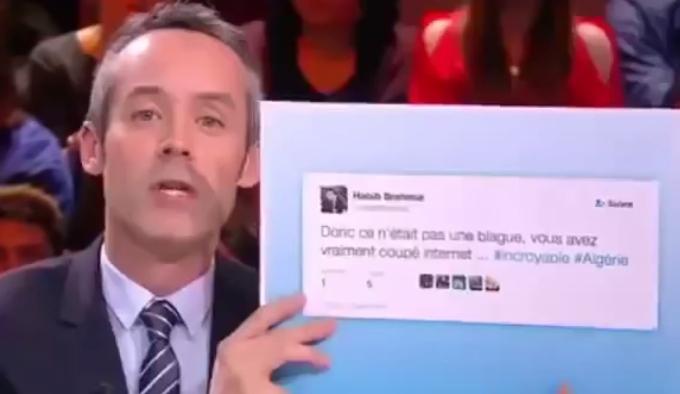 Le petit journal -قناة فرنسية كنال بلوس تسخر من بكالوريا الجزائر 2016 وانقطاع أنترنت canal + و vbn و بن غبريط