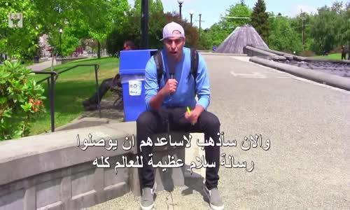 شاهد ماذا قال الامريكان عن بلدك وهم يتحدثون بالعربى لاول مرة فى حياتهم