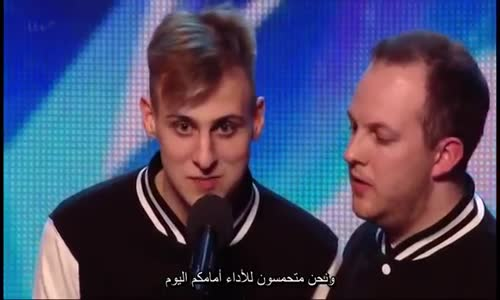 رقص هيب هوب خطير برنامج المواهب البريطاني مترجم