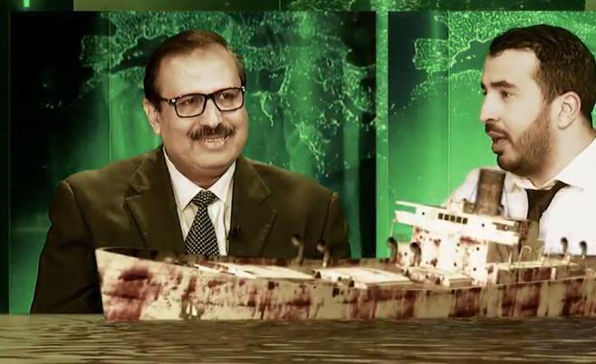 رانا حكمناك VIP _ النائب حسن عريبي يرمي الماء على الجنرال توفيق