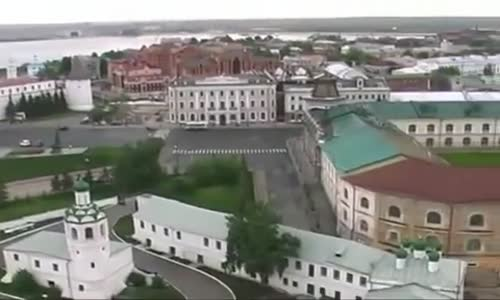Beautiful Kazan Mosque Close Up  Russia