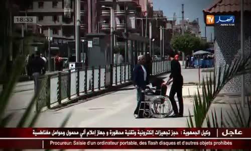 كاميرا خفية  رد فعل الجزائريين على شاب يريد رمي والدته في دار العجزة