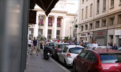 Hooligans à Marseille lors de leuro 2016