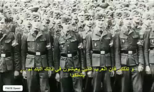 خطاب هتلر مترجم الى العربية Hitlers Rede ins Arabische übersetzt