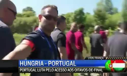 Ronaldo atira micro da CMTV para um lago