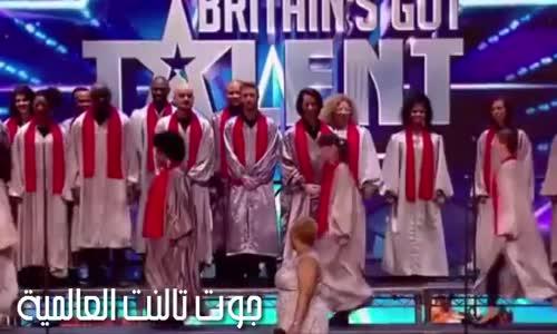 موهبة الباز الذهبي لأليشا - جوقة الـ 100 صوت تبهر الحكام والجمهور في برنامج المواهب البريطاني 2016