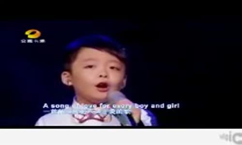 اجمل صوت في العالم بلا منازع مواهب الصيني لا يفوتك tell me why