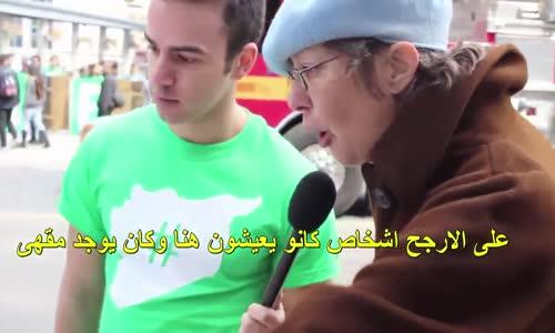 شاهد ما الذى قاله الناس فى كندا عندما شاهدو صور لما يحدث فى سوريا _ بالتاكيد ستبكى بسبب الفيديو
