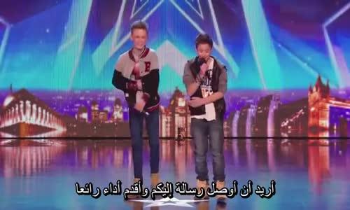 غناء راب رائع_برنامج المواهب البريطاني..مترجم
