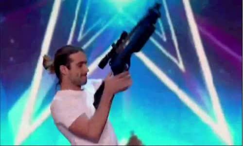 Dangerous act Britain's Got Talent 2016 - برنامج المواهب البريطاني خطير