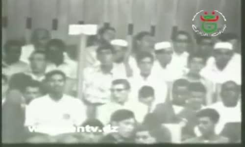 Moufdi Zakaria - مفدي زكرباء شعب الجزائر مسلم  و إلى العروبة ينتسب
