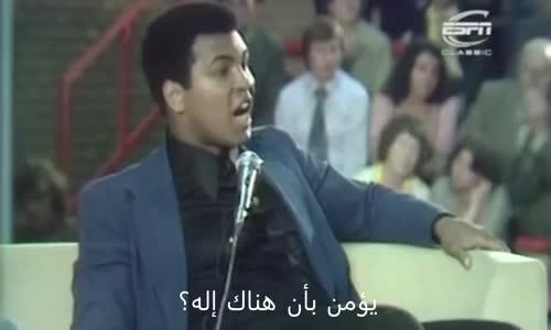 محمد علي يجيب عن  سؤال من طفل  بدرر من الفاجأت