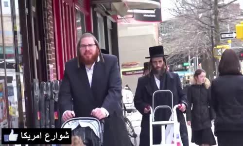 شاهد ماذا فعل الناس فى امريكا عندما شاهدوا شخص مسلم يمشى مع شخص يهودى
