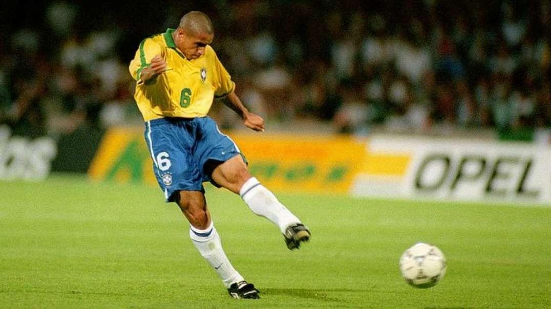 Roberto Carlos Legendary Speed Dribbling Skills