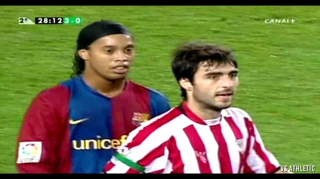 Ronaldinho Top 33 Ridiculously Disrespectful Skill Moves