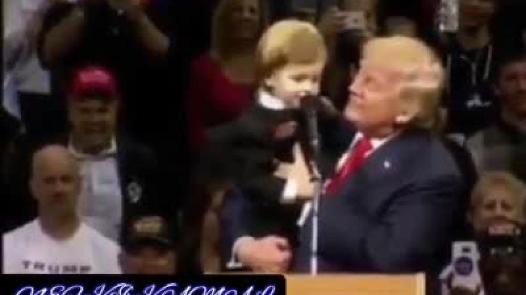 طفل جزائري يقدم شكوى للرئيس الامريكي دونالد ترامب ههههه