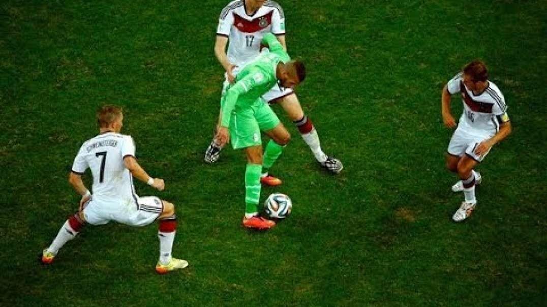ملخص مباراة المانيا والجزائر 2-1  كأس العالم 2014