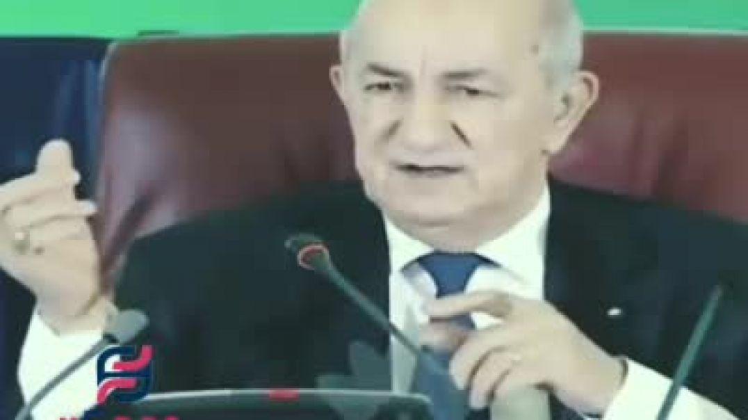 عبد المجيد تبون نحن خدمة الوطن و المواطن