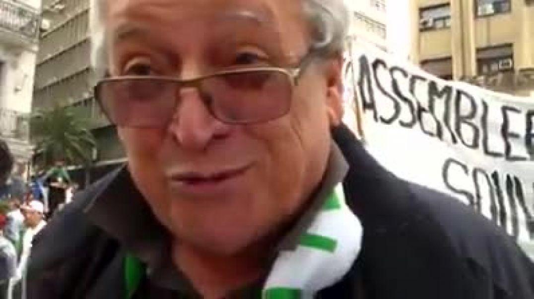 رئيس حزب زوافي عميل لفرنسا وسط الحراك يطالب بحذف المادة 2 من الدستور الاسلام دين الدولة
