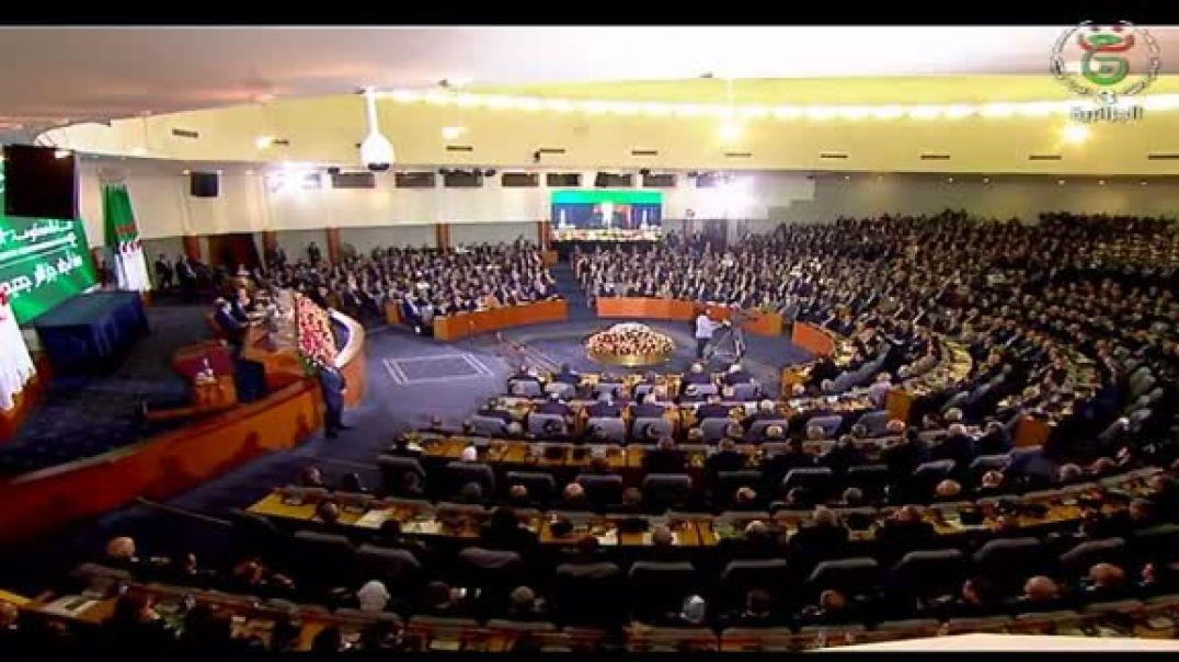 الفيديو الذي صدم به رئيس الجمهورية الولاة و الوزراء وخطابه حول الجزائر الجديدة