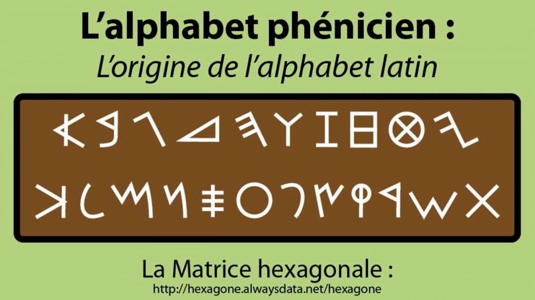 الحروف الفينيقية العربية هي اصل الحروف الاغريقية واللاتينية