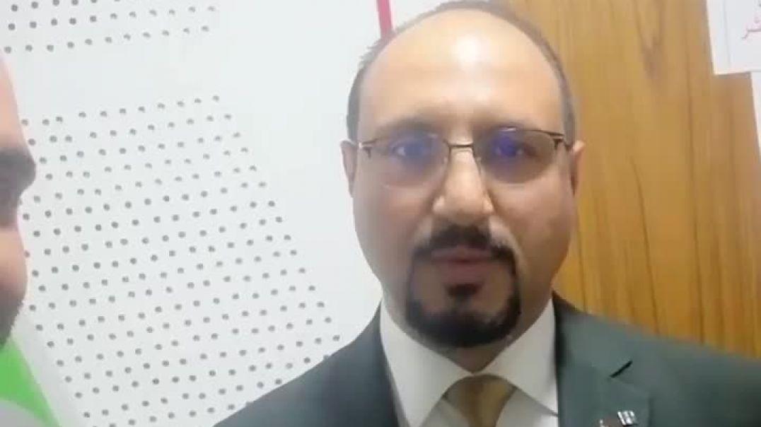 العراق يحتفل بنجاح دواء كورونا على لسان الدكتور سلمان الشمري مدير مستشفى ابن الخطيب