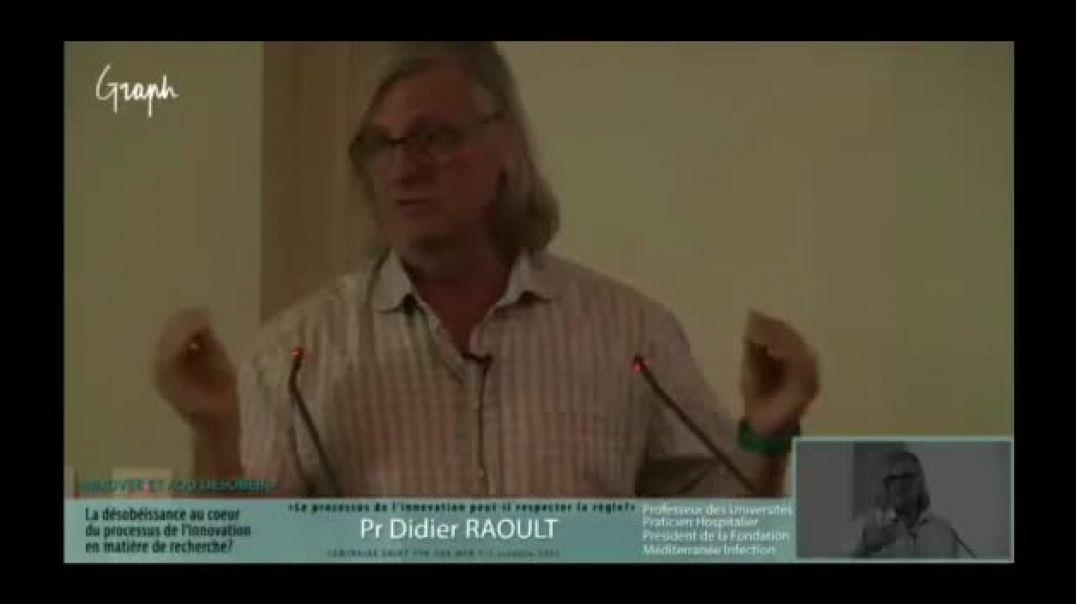 Pr Didier Raoult : les meilleurs chercheurs scientifique en France c est les noirs et les arabes