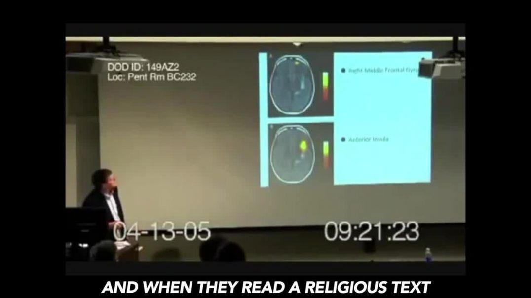 صناعة لقاح يؤثر على مواقع في المخ  يقضي على الايمان بالله