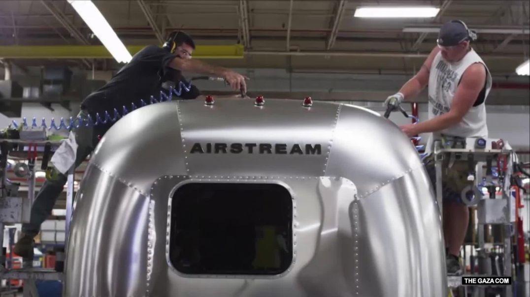 مصانع عملاقة: مقطورات إيرستريم (Airstream) 1080p