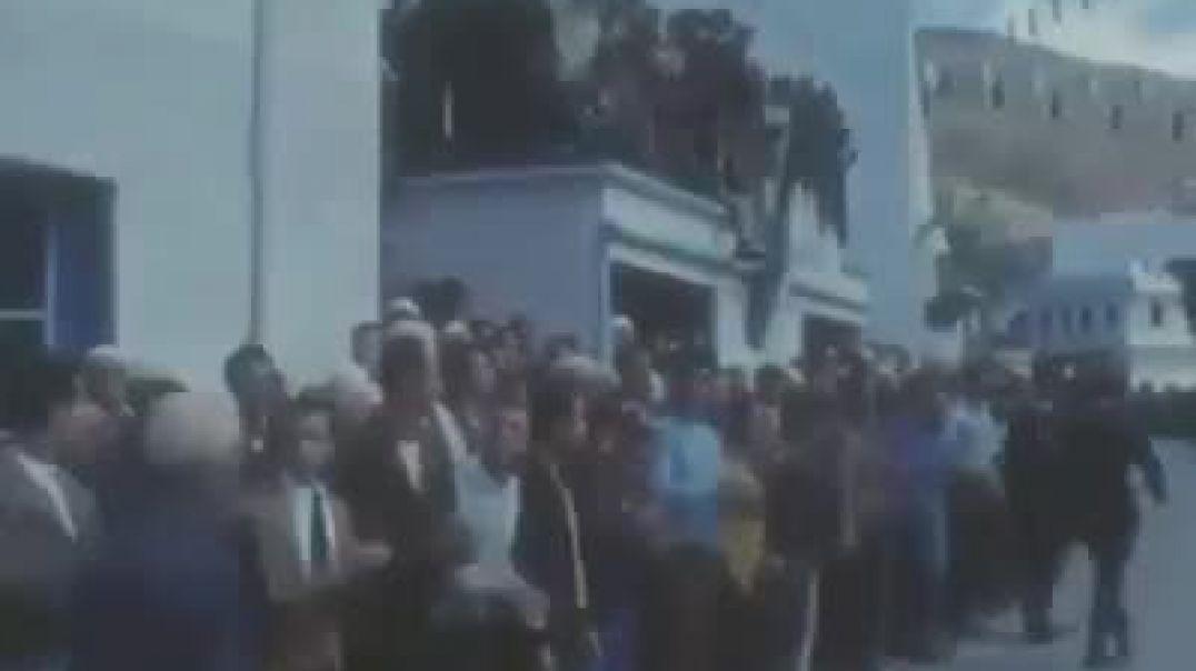 زيارة الهواري بومدين إلى تيزي وزو حضي باستقبال حافل