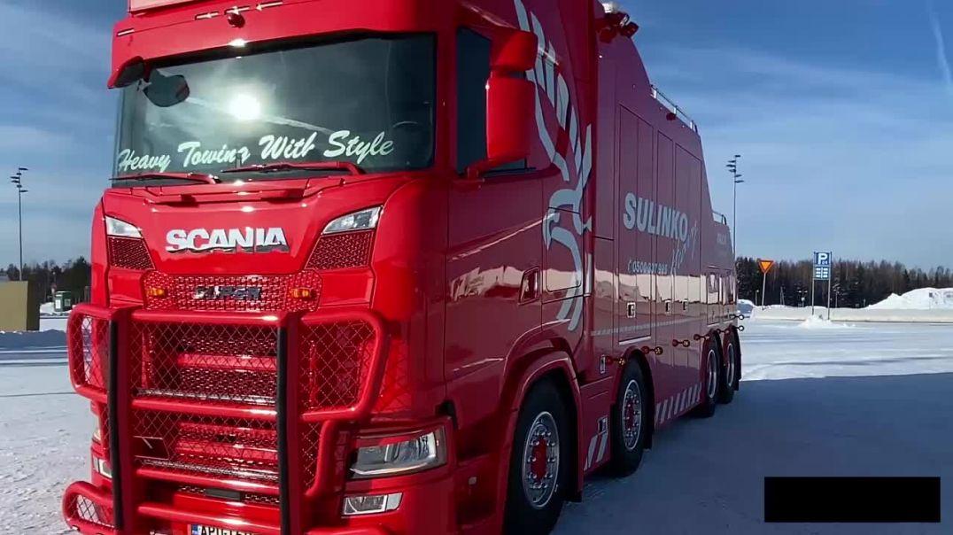 وحدة انقاذ الشاحنات العملاقة: الحلقة 2